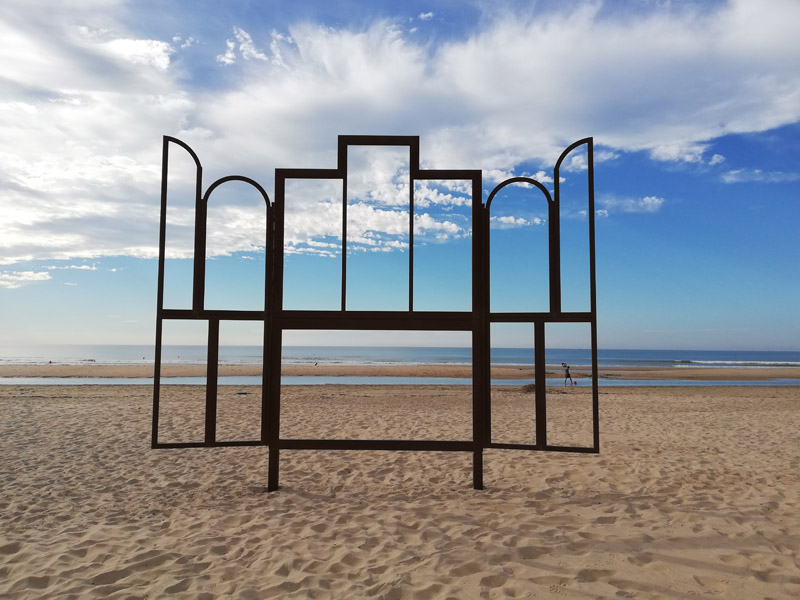 Pascal Marthine Tayou (strand Oostende)
