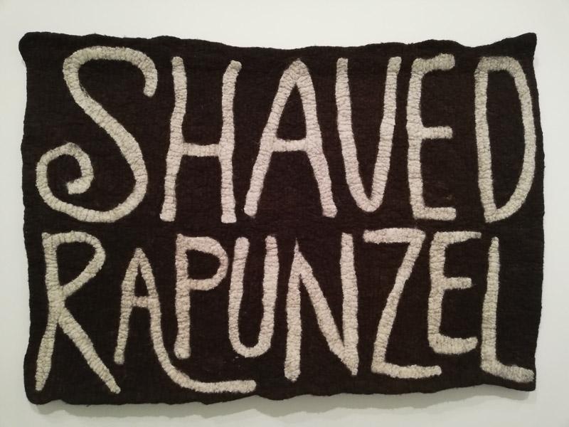 Wintrum, Orla Barry Shaved Rapunzel, wol, 2011
