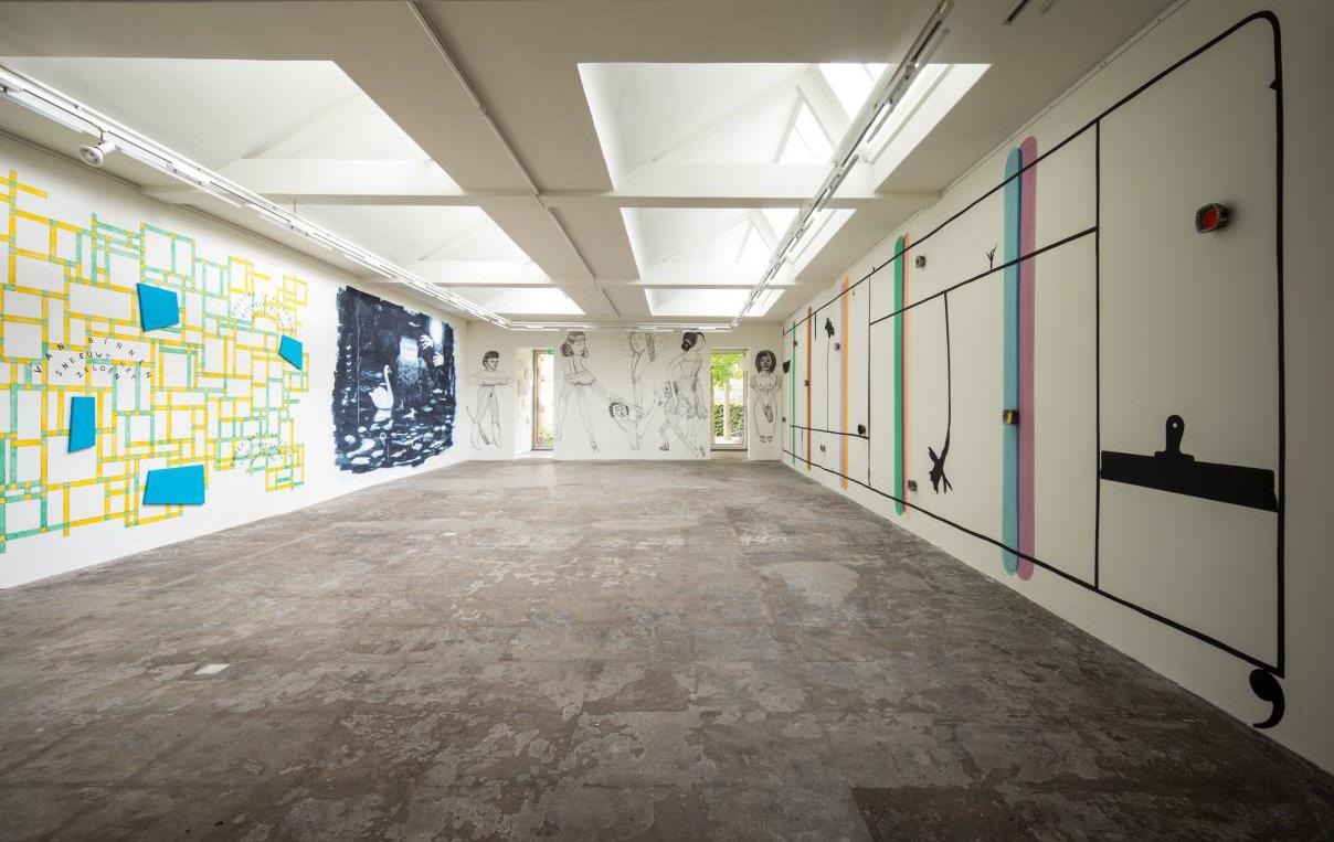 Wandschilderingen 25 jaar Galerie Ramakers