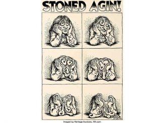 Robert Crumbs Stoned Agin naar de veiling